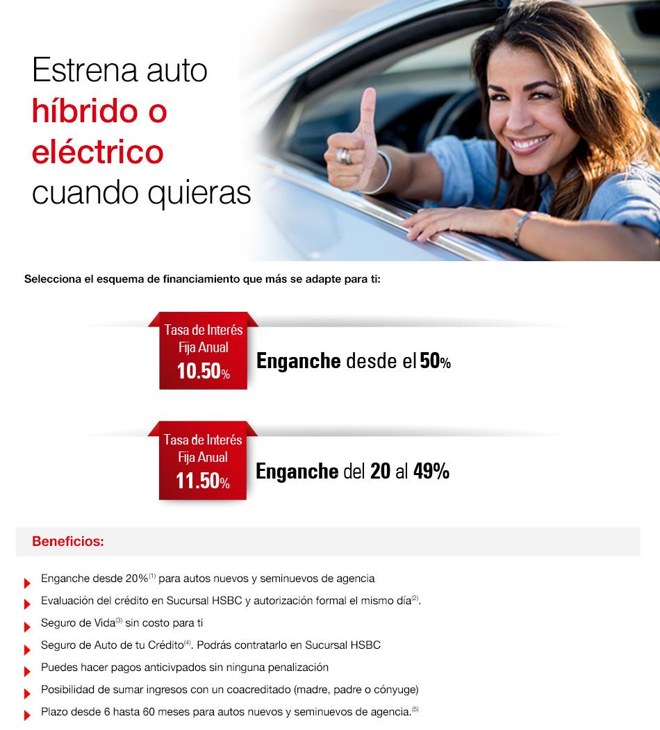 7621055d1 Crédito Inmediauto HSBC Verde - HSBC México